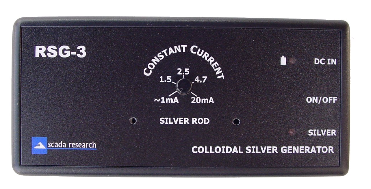 Top View of the RSG-3 Colloidal Silver Generator